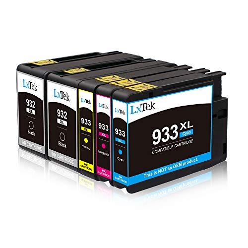 atz für HP 932XL 933XL 932 XL 933 XL Multipack Druckerpatronen für HP Officejet 6100 6600 6700 7110 7610 7612 Drucker (2 Schwarz, 1 Cyan, 1 Magenta, 1 Gelb) ()