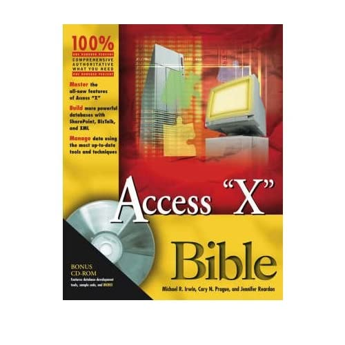 [ [ ACCESS BIBLE [WITH CDROM] (2003) (BIBLE (WILEY)) BY(PRAGUE, CARY N )](AUTHOR)[PAPERBACK]