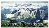 Luftbildkalender Dolomiten 2018: airphoto dolomiten - dolomiti - dolomites -