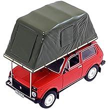 """Norev IXOIST295MR scala 1: 43"""" ist models 1981LADA Niva con tenda tetto rosso modello di auto"""