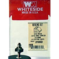 Whiteside 2100d perline Bit w/cuscinetto a sfera 5/32R 13/16ld 1/2cl