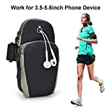 Cable World® Waterproof Sport Armband Running Jogging Gym Arm Band Case Cover