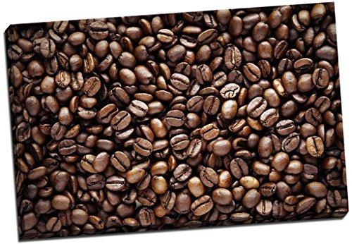 Leinwandbild Kaffeebohnen Wand Art Großer 76,2x 50,8cm (76.2cm x 50.8cm)