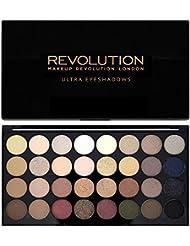 Maquillage Revolution Ultra - Palette 32 ombres à paupières - Brillants et Mats Nudes - Flawless