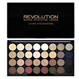 Makeup Revolution Schimmert und Matt Hautfarben Ultra 32 Eyeshadows Flawless
