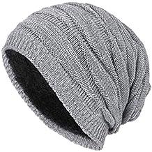 fc3ab81353b66 QS Go Sombreros de Hombre Slouch Beanie Gorro de Invierno Gorro Hombre  Invierno Gorros Invierno Sombreros de