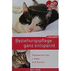 """Ein Herz für Tiere/Ratgeber: """"Beziehungspflege ganz entspannt"""" Harmonisches Leben mit Katzen"""