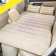 Gonfiabile letto matrimoniale / auto materasso adulto / auto posteriore letto / auto posteriore sedile rilievo sonno / aria ammortizzatore auto scuota letto / corsa forniture, E-beige