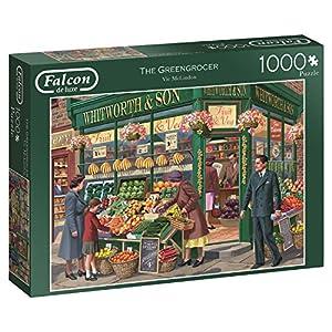 Jumbo Falcon de Luxe The Greengrocer 1000 pcs Puzzle - Rompecabezas (Puzzle Rompecabezas, Gente, Adultos, Niño/niña, 12 año(s), Interior)