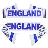 PENVEAT Russland WM 2018Fußball Fussball Schal Fan Schal Fußball-Nationalmannschaft England Flagge Fahne Cheerleaders Schal, England -