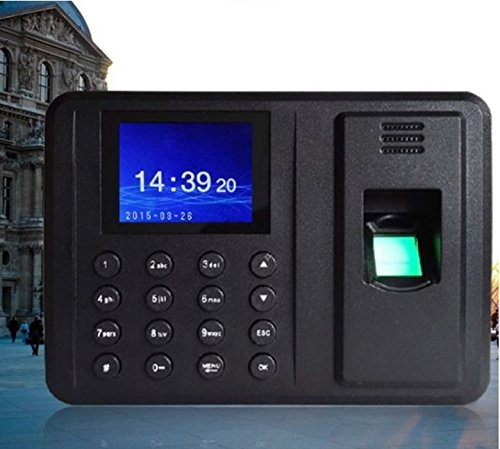 Biometric Time Attendance Machine System With Features Like Fingerpint & Password Enrollment   Sensor Re-Calibration & More  available at amazon for Rs.2299