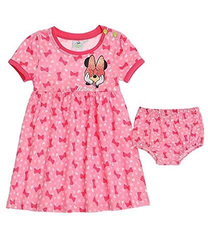 Disney Minnie Robe & bloomer - fushia -