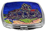 Rikki Knight Compact Mirror, Van Gogh Art The Church Of Auvers