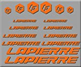Ecoshirt 1O-3CB6-RPJC Stickers Lapierre R250 Stickers Aufkleber Decals Autocollants adhésifs Orange...