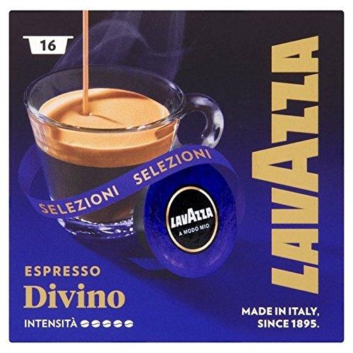 Lavazza A Modo Mio Espresso Divino 16 Pro Packung - Packung mit 6