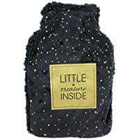 Les Trésors De Lily [Q3844] - Schwarze Wärmflasche (MMeßsaaggeess) schwarz (kleiner Schatz drinnen) - 26x16.5x4.5... preisvergleich bei billige-tabletten.eu