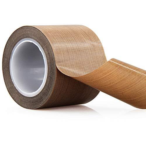 100% de garantía de calidad; Cinta de teflón de fibra de vidrio recubierta de PTFE, cinta de alta temperatura, cinta transportadora de secado; Cinta de sellado de soldadura; -196 ℃ - + 300 ℃