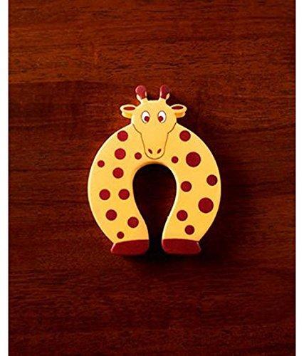 Anantha Products™ CHILD DOOR STOPPER CUM SOFT TOY-Giraffe