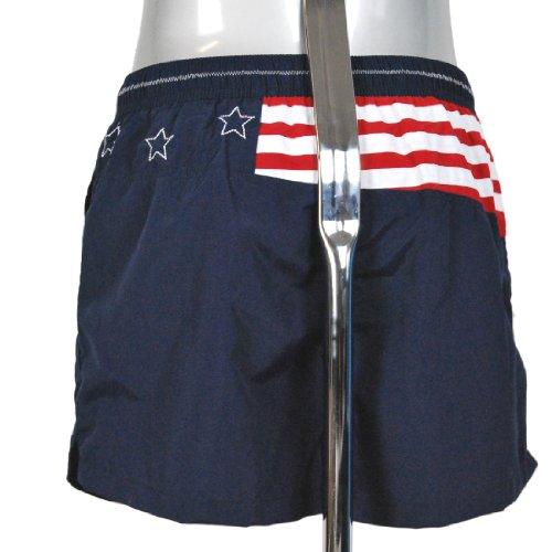 JOCKEY Badeshort Short Freizeitshort Badehose Innenfutter Tasche U.S.A. Originals Navy
