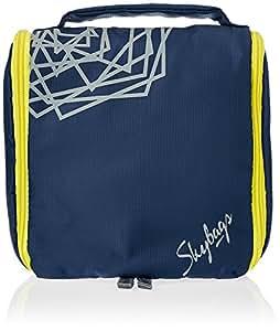 Skybags Nylon 19 Cms Blue Toiletry Bags (TYEYZKBLU)