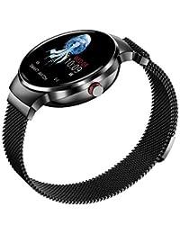 likeitwell H5 Mujeres Bluetooth Fitness Tracker Pantalla táctil a color Reloj impermeable Con todo el día Periodo de actividad Seguimiento Pulsera inteligente