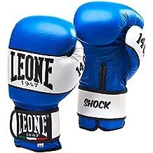 Leone 1947 Guantes de boxeo, modelo Shock azul turquesa Talla:16 Oz