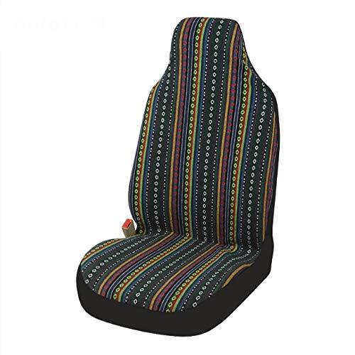 luoshui Universal Stripe Colorful Front Seat Cover Sattel Blanket Baja Bucket-Sieber Decken-Schützen für Auto-Truck & SUV