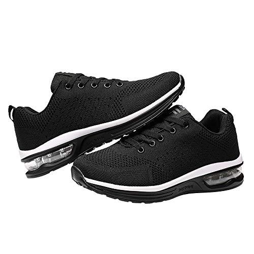 Laufschuhe Turnschuhe Straßenlaufschuhe Sneaker mit Snake Optik Damen Herren - Oyedens Schuhe Paar Modelle Anti-Rutsch-Mesh-Schuhe Sportschuhe