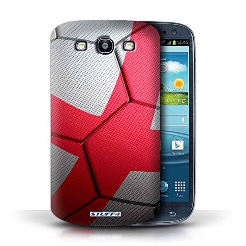 Coque de Stuff4 / Coque pour Samsung Galaxy S3/SIII / Angleterre Design / Nations de Football Collection Angleterre