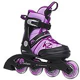 K2 Cadence JR Kinder Inline Skates größenverstellbare Inliner Rollerskates für Mädchen
