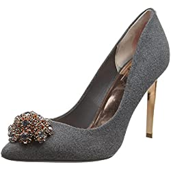 Ted Baker Damen Peetch Pumps, Grau, 39 EU