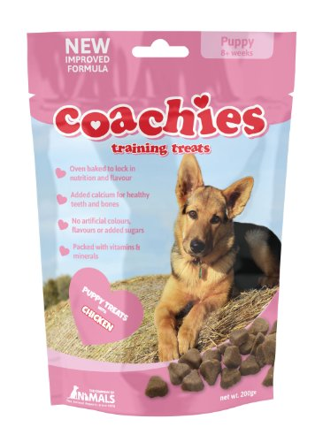 Company of Animals COACHIES Puppy Training Treats – 200g (Single Pack)