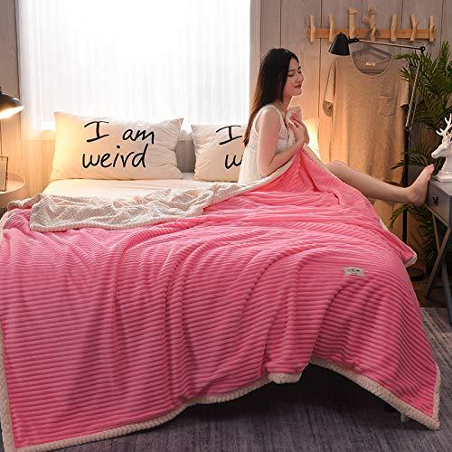 Simmia Home Throw Blanket Manta de bebé de Franela Cálido Ligero Felpa...