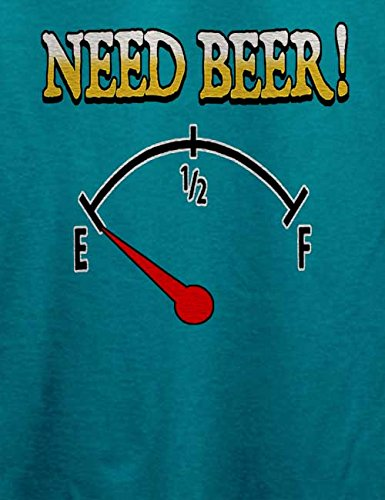 Need Beer T-Shirt Türkis