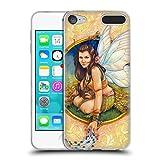 Head Case Designs Offizielle Jane Starr Weils Saphire Blau Feen Soft Gel Hülle für Apple iPod Touch 6G 6th Gen
