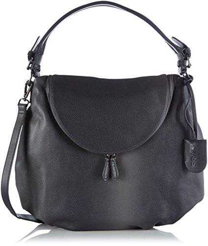 Friis & Company - Faiding Rikke Everyday Bag, Borsa A Tracolla da donna, grigio (grey), 8x37x43 cm (B x H x T)