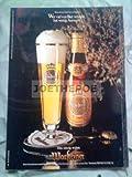 70er Jahre : WARSTEINER / WER VIEL... - alte Werbung /Originalwerbung/ Printwerbung /Anzeige /Anzeigenwerbung GROSSFORMAT 21 x 27 cm