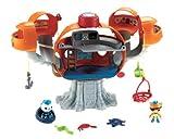 Mattel Fisher-Price X8602 - Die Oktonauten Oktopod Spielset mit viel Zubehör