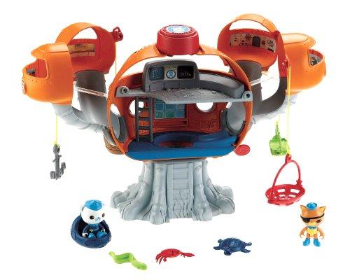 Kostüm Octonaut - Mattel Fisher-Price X8602 - Die Oktonauten Oktopod Spielset mit viel Zubehör