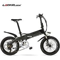20 Bicicleta eléctrica plegable Incorporada 48V 10Ah Batería de ión de litio, Motor