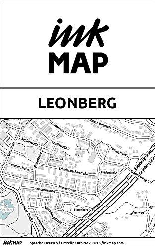 Inkmap Leonberg - Karten für eReader, Sehenswürdigkeiten, Kultur, Ausgehen (German) (German Edition)