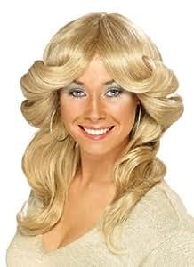Smiffy's 70's Layered Flick - Blonde