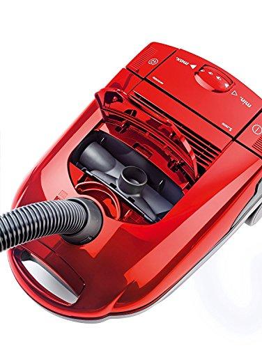 AEG Vampyr CEANIMAL Staubsauger mit Beutel EEK F (1500 Watt, Beste Reinigungsklasse auf Hartböden, 3 Düsen davon 2 Spezialdüsen zur Tierhaarentfernung, inkl. Zubehör) rot - 5