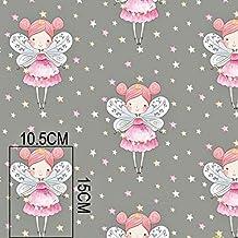 100% algodón Tela de algodón Niños plástico Metro handwerken costura plástico Diseño ...