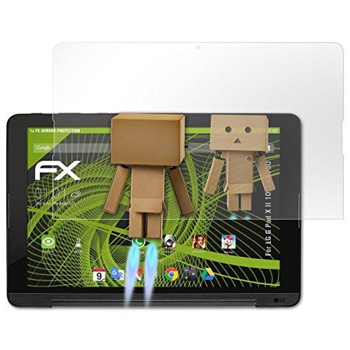 atFolix Bildschirmfolie für LG G Pad X II 10.1 UK750 Spiegelfolie, Spiegeleffekt FX Schutzfolie