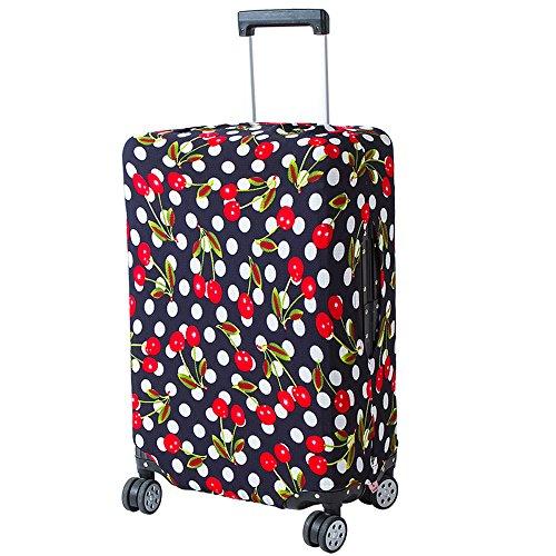 k Abdeckung Koffer Abdeckung Schutz Trolley Case Schutzhülle für 18-20 Zoll Reise Gepäck Koffer Abdeckung Schutz Koffer Staubschutz Mehrfarbig 1 Stück g ()