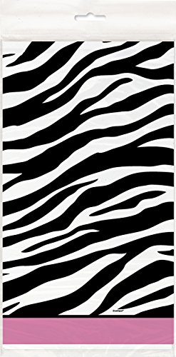 (Unique Party Supplies Geburtstagspartyzubehör im Zebra-Design.)