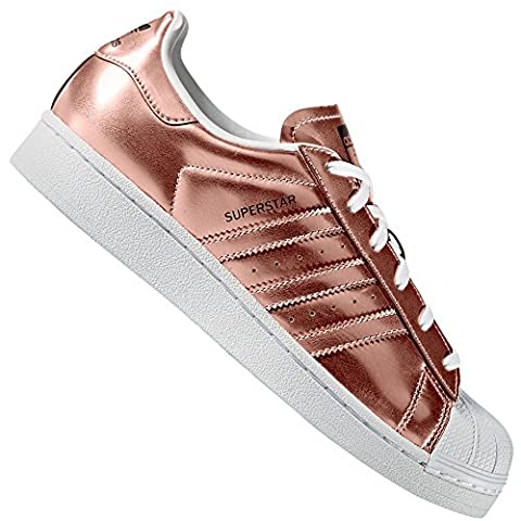 Adidas Sneaker SUPERSTAR W CG3680 Bronze, Schuhgröße:41