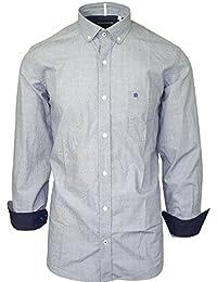Serge Blanco - chemise serge blanco grise