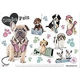 Grupo Erik Editores TSEH515 - Vade escolar con diseño Studio Pets Perros